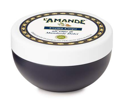 L'Amande Body Cream With Sweet Almond Oil