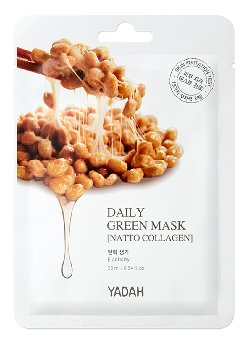 Yadah Daily Green Natto Collagen Mask
