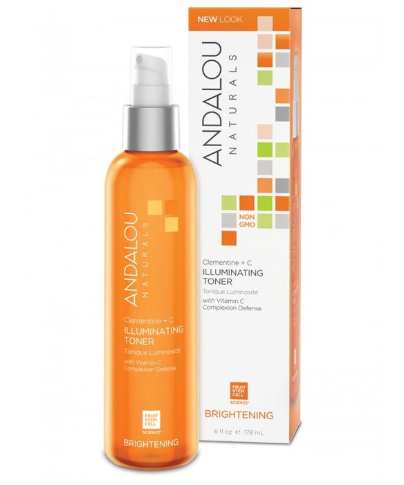 Andalou Naturals Brightening Clementine + C Illuminating Toner