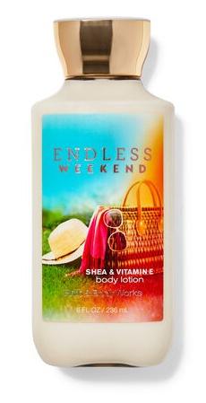 Bath & Body Works Endless Weekend Body Lotion