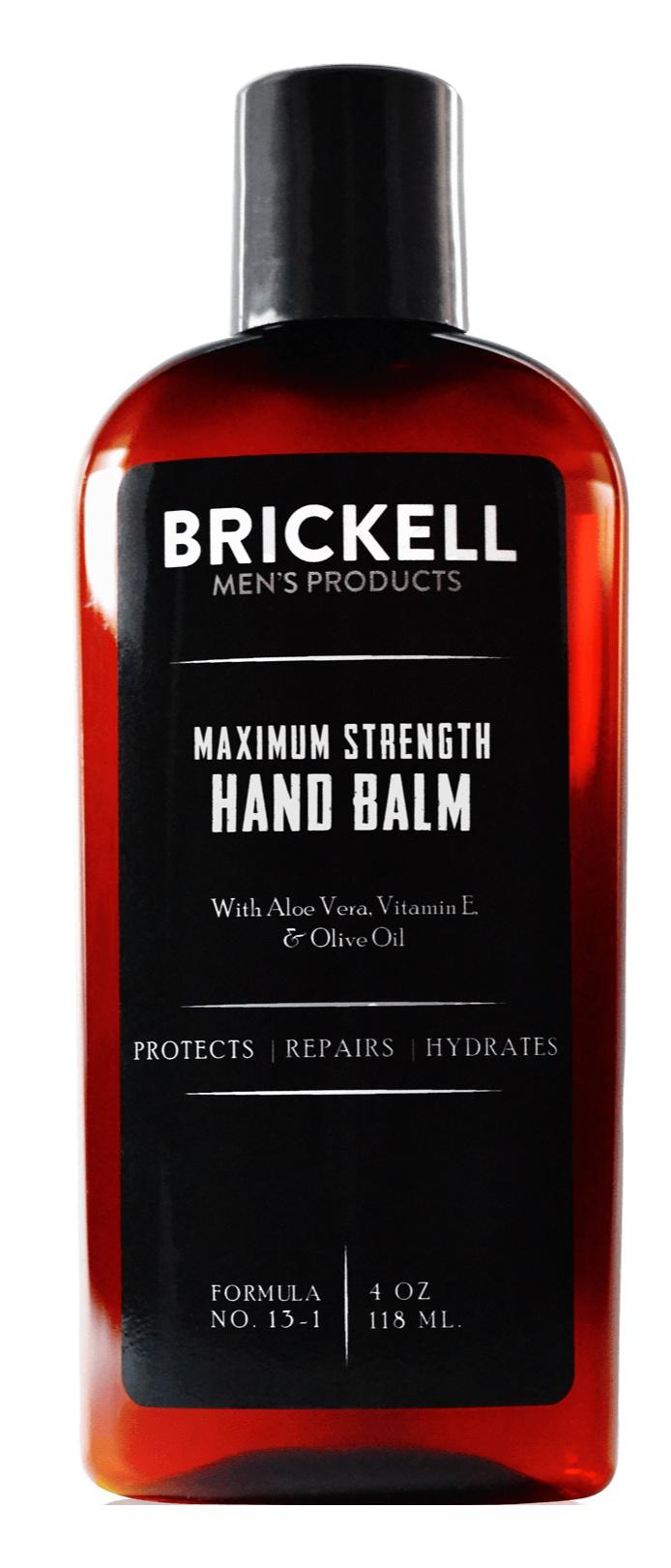 Brickell Maximum Strength Hand Balm