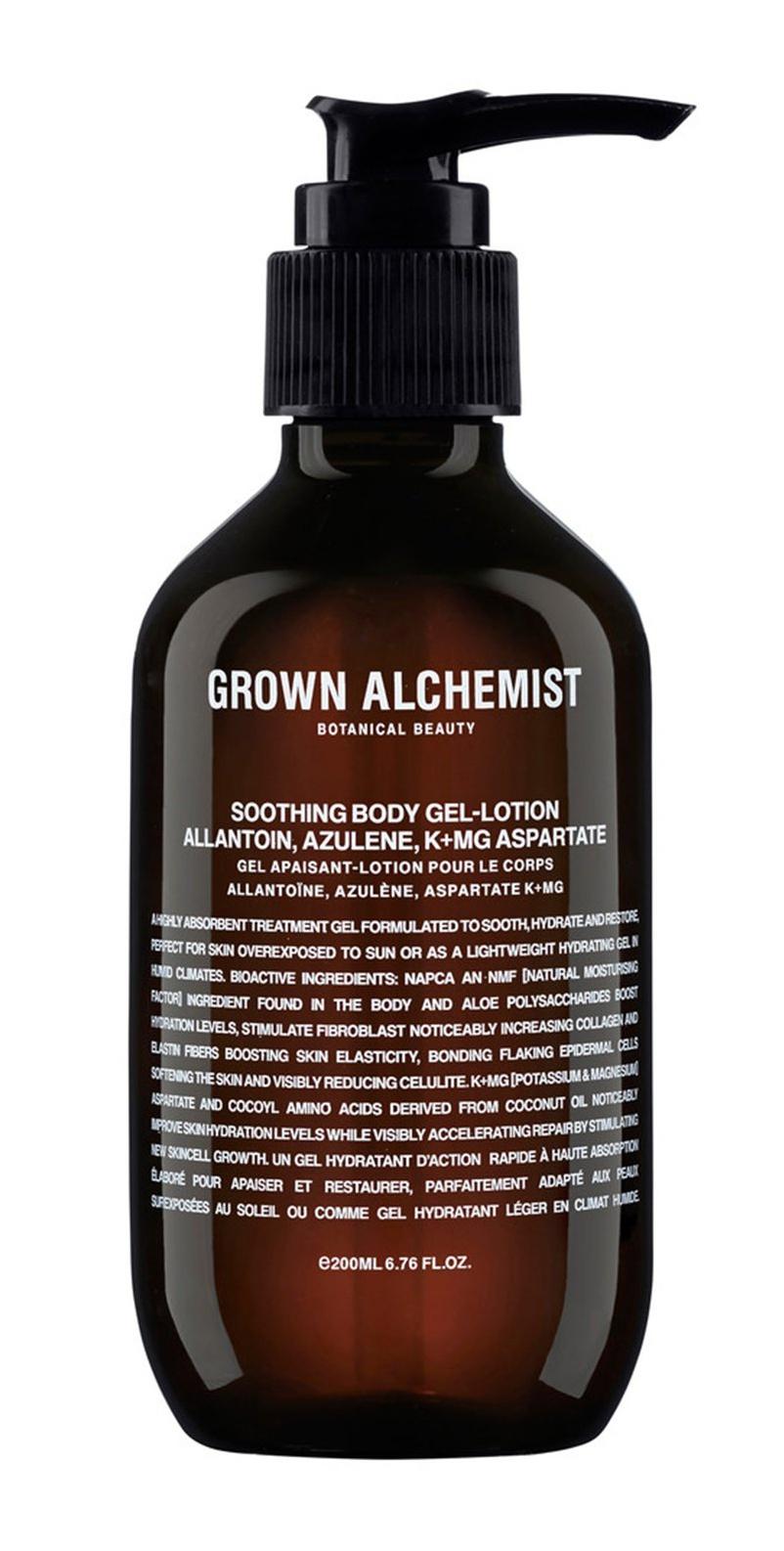 Grown Alchemist Soothing Body Gel-Lotion - Allantoin, Azulene, K+Mg Aspartate