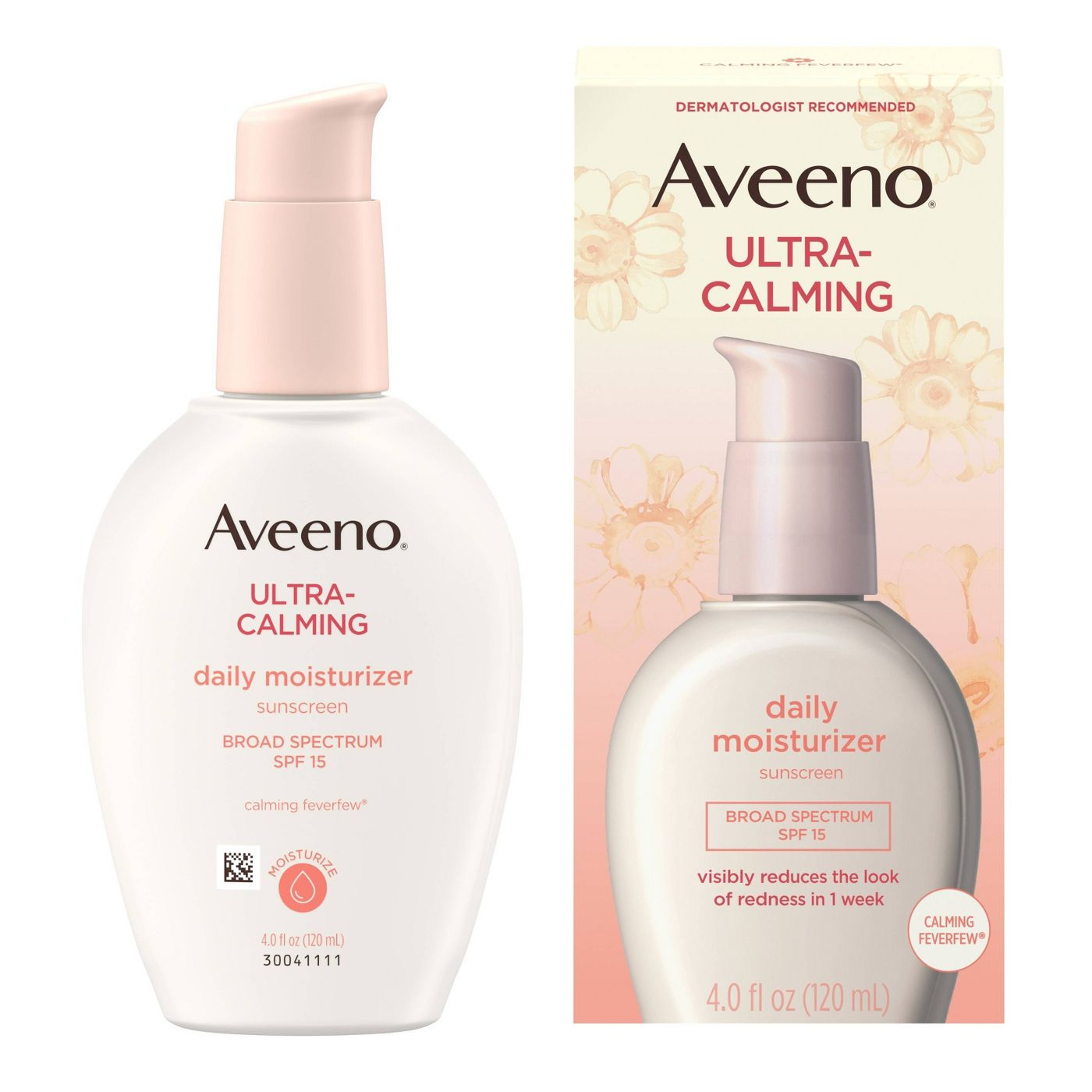 Aveeno Ultra-Calming Daily Moisturizer Sunscreen Spf 15