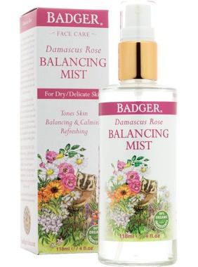Badger Rose Balancing Mist