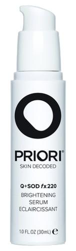 Priori Q+Sod Fx220 Brightening Serum