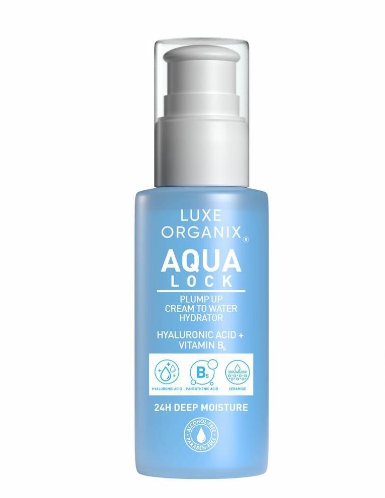 Luxe Organix Aqua Lock Plump Up Cream To Water Hydrator