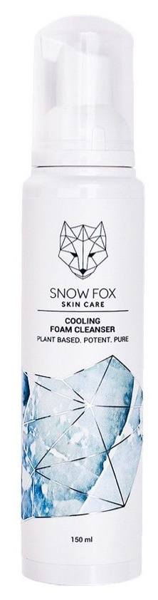 Snow fox Cooling Foam Cleanser
