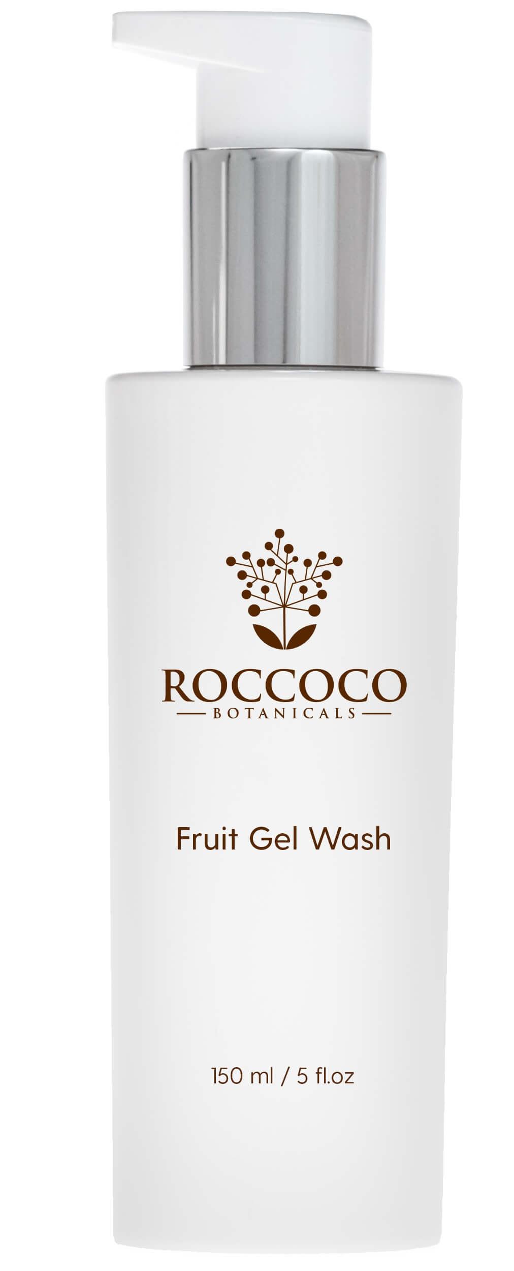 Roccoco Botanicals Fruit Gel Wash