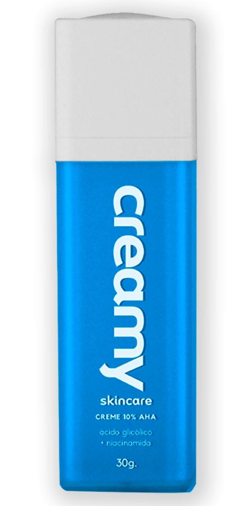 Creamy Creme 10% AHA Ácido Glicólico + Niacinamida