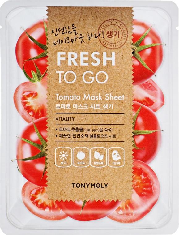 TonyMoly Fresh To Go Tomato Mask Sheet