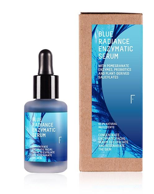 Freshly Cosmetics Blue Radiance Enzymatic Serum