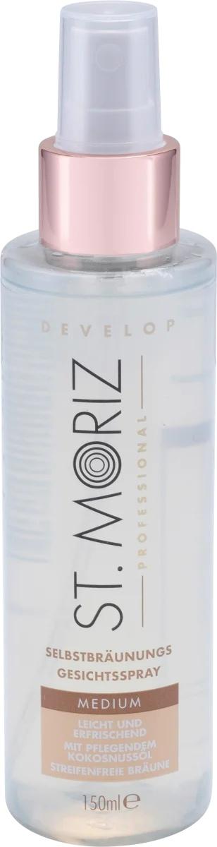 St. Moriz Self Tanning Face Spray Medium