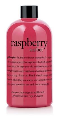 Philosophy Raspberry Sorbet Shampoo, Shower Gel & Bubble Bath