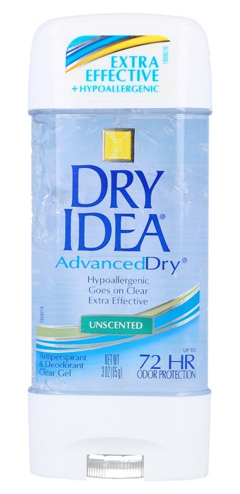 Dry Idea Advanced Dry Unscented Antiperspirant And Deoderant Clear Gel
