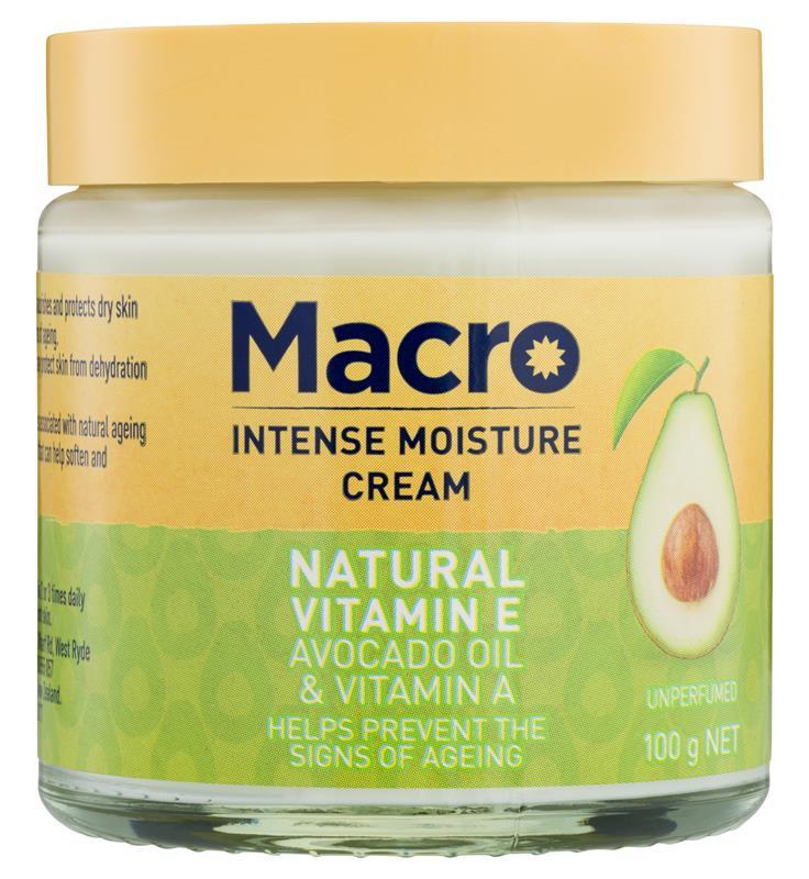 Macro Natural Vitamin E Cream
