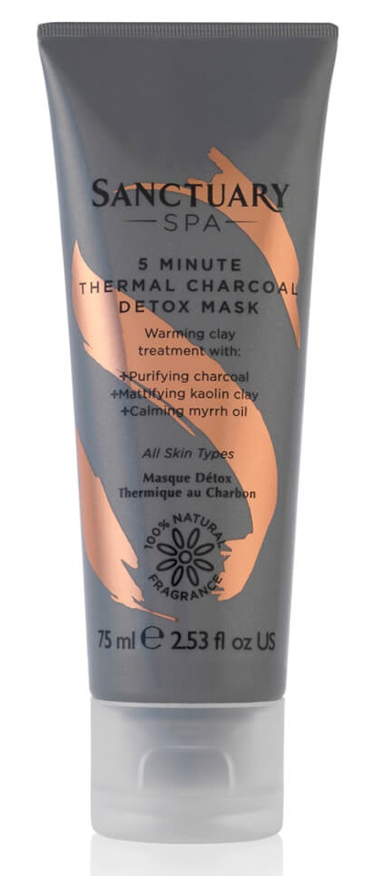 Sanctuary Spa 5 Minute Thermal Charcoal Detox Mask