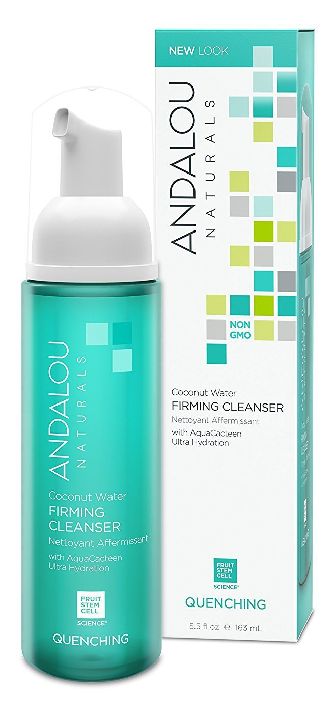 Andalou Naturals Quenching Coconut Water Firming Cleanser