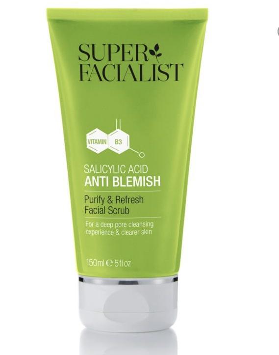 Super Facialist Salicylic Acid Anti Blemish Purify & Refresh Facial Scrub