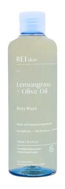 REI skin Lemongrass + Olive Oil Body Wash