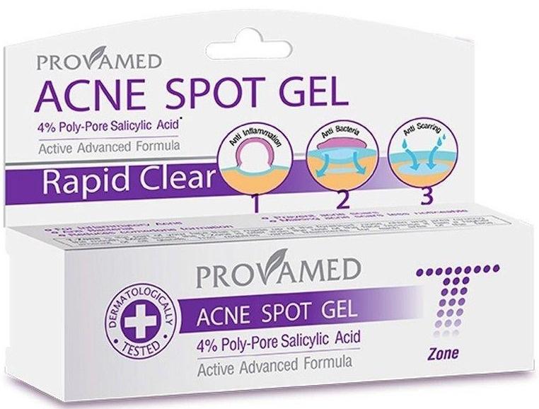 Provamed Acne Spot Gel 4% Poly-Pore Salicylic Acid