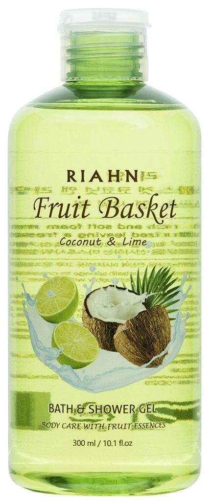 Riahn Fruit Basket Coconut & Lime Bath & Shower Gel