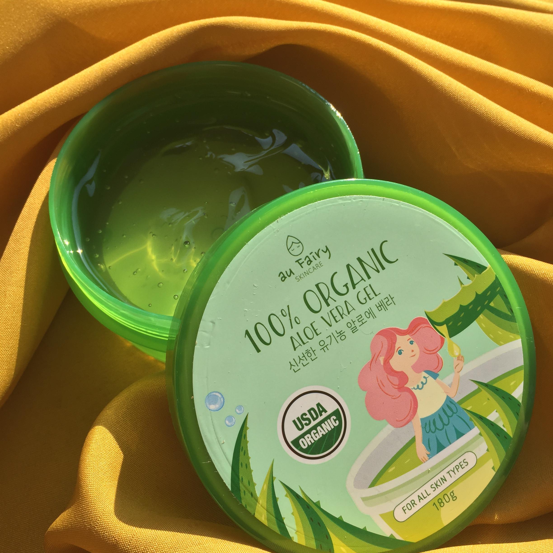 Au Fairy Soothing Spell 100% Organic Aloe Vera Gel