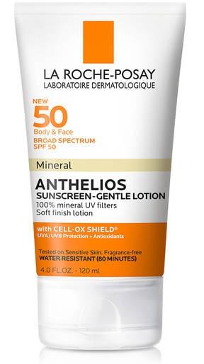 La Roche-Posay Broad Spectrum Spf 50 Mineral Sunscreen Gentle Lotion
