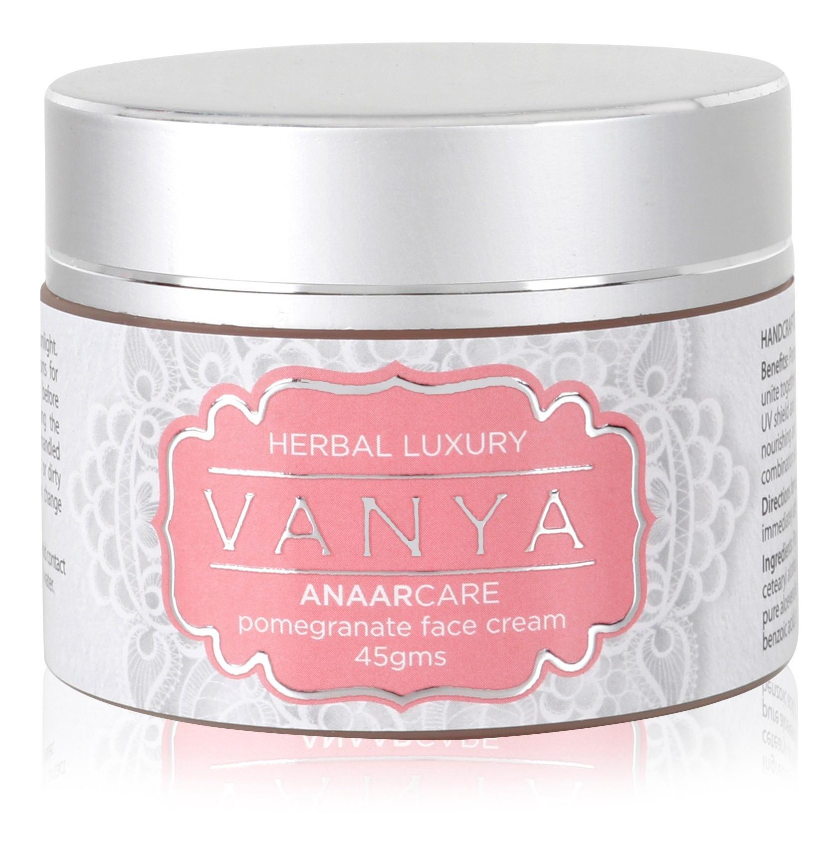Vanya Herbal Anaar Care Pomegranate Face Cream