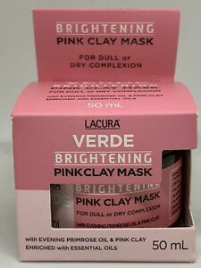 LACURA Verde Brightening Pink Clay Mask