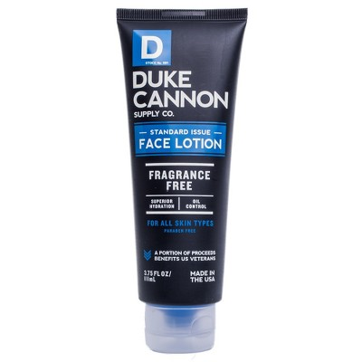Duke Cannon Supply Co Standard Issue Face Lotion