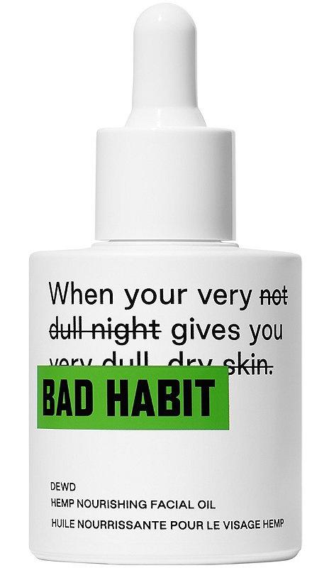 Bad Habit Dewd Hemp Nourishing Facial Oil