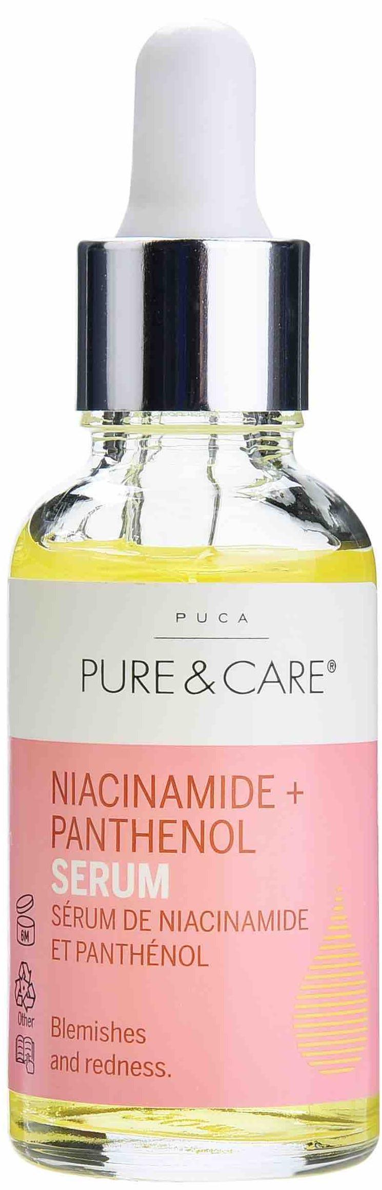 Puca Pure & Care Niacinamide + Panthenol Serum