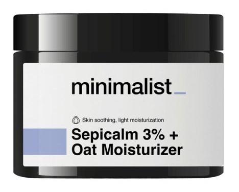 Be Minimalist Sepicalm 3% Face Moisturizer