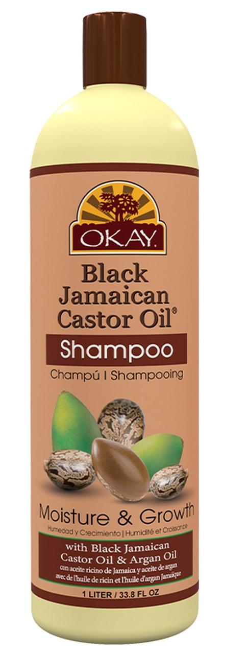 Okay Pure Naturals Black Jamaican Castor Oil Moisture & Growth Shampoo