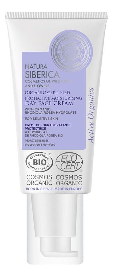 Natura Siberica Protecting Moisturising Day Face Cream (Sensitive Skin)