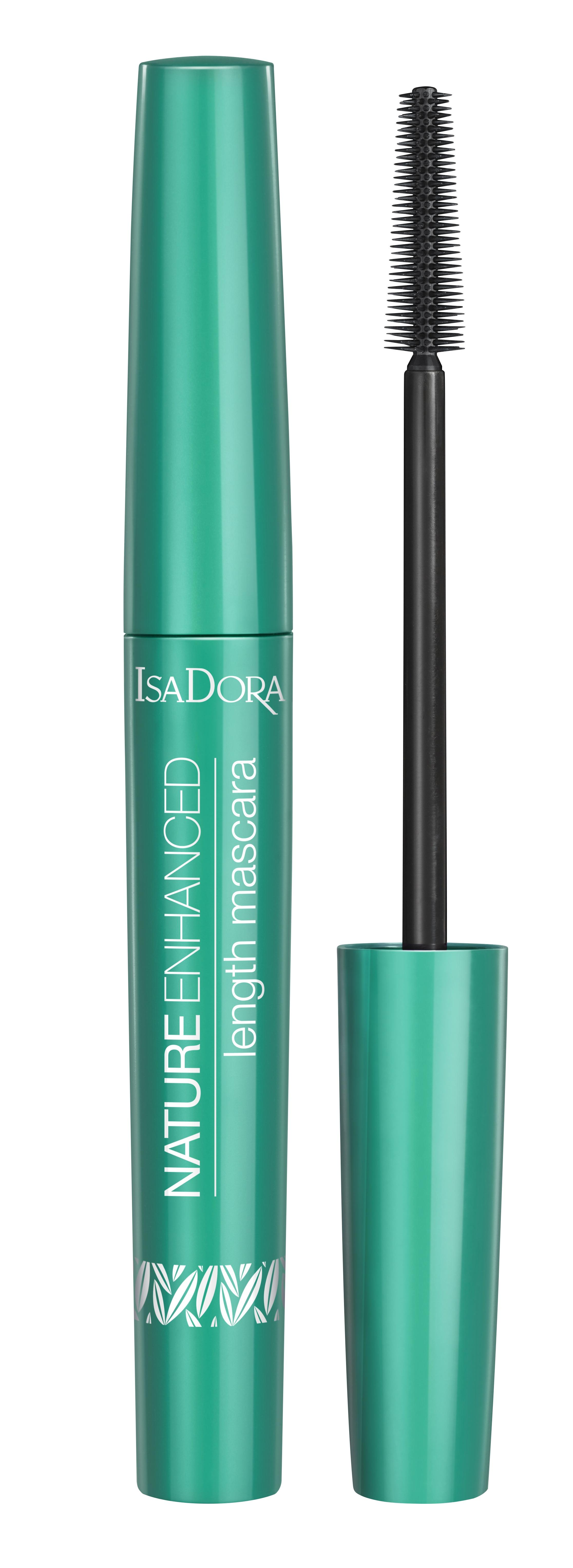 Isadora Nature Enhanced Length Mascara Black