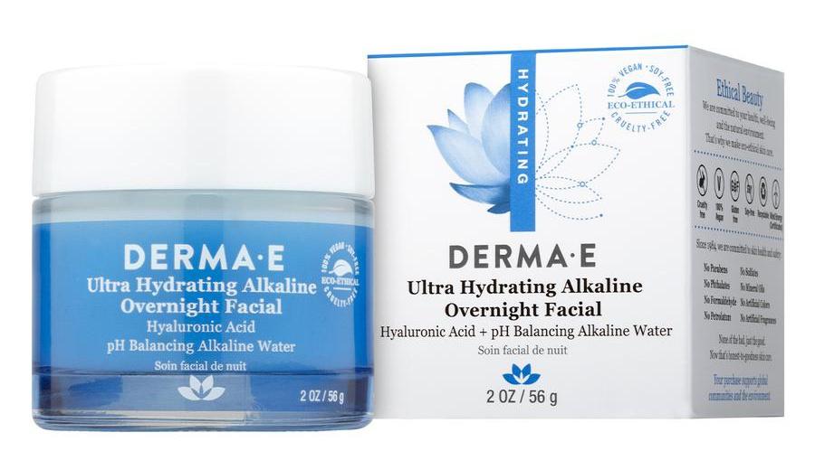 Derma E Ultra Hydrating Alkaline Overnight Facial