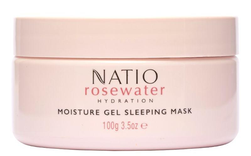 Natio Rosewater Hydration Moisture Gel Sleeping Mask
