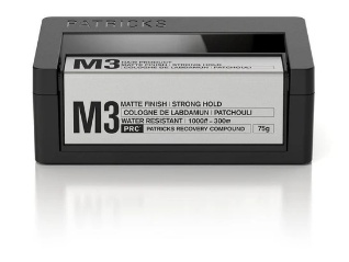 Patricks M3 Matte Finish | Strong Hold Styling Product