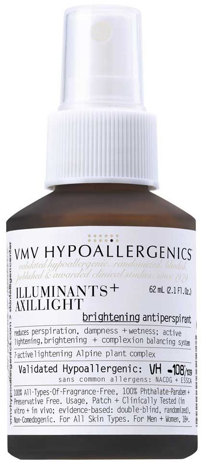 VMV HYPOALLERGENICS Illuminants+ Axillight: Treatment Antiperspirant