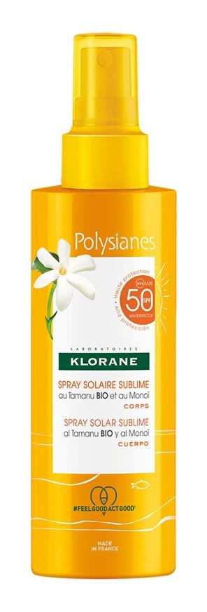 Klorane Sublime Solar Spray Spf 50