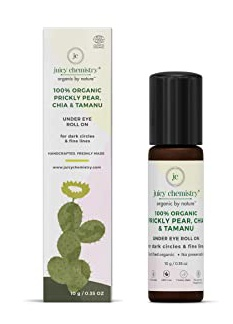 juicy chemistry Prikly Pear, Chia And Tamanu Eye Roll On