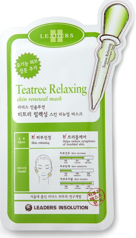 Leaders Teatree Relaxing Renewal Mask