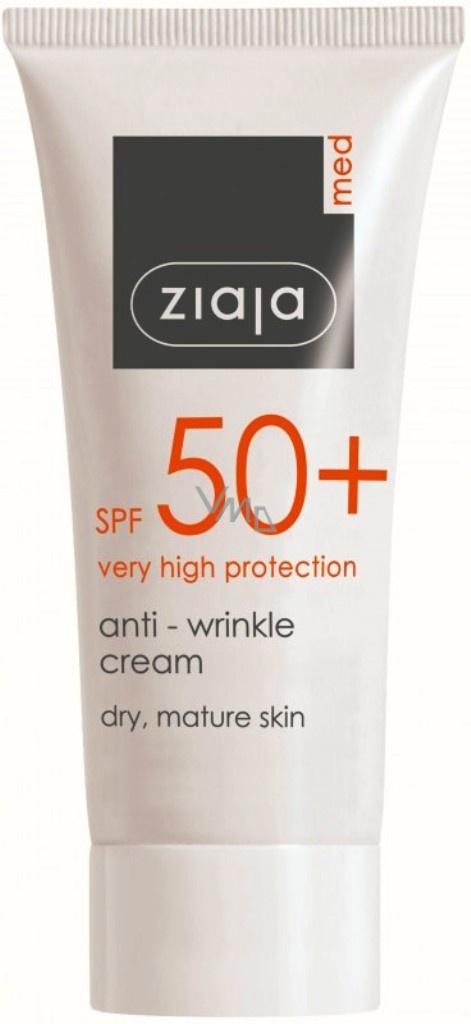 Ziaja Med SPF 50+ Anti-wrinkle Cream