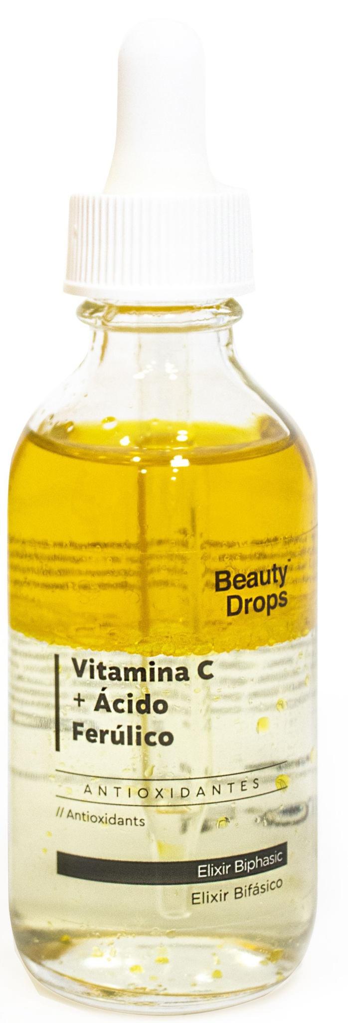 Beauty Drops Vitamina C + Ácido Ferúlico Elixir Bifásico