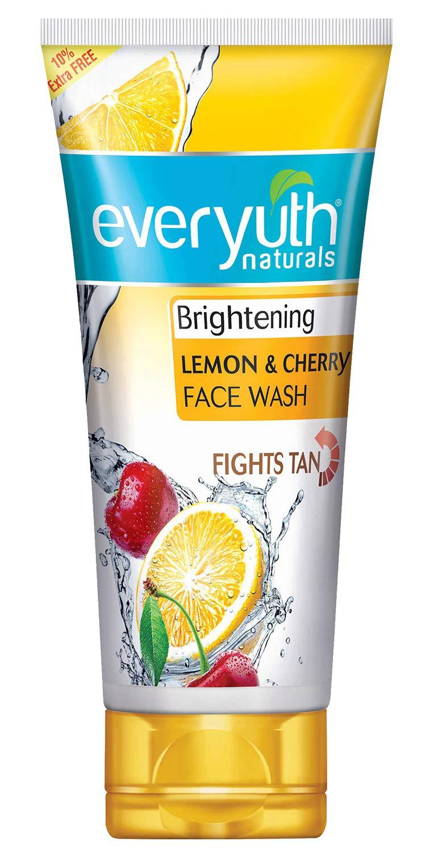 Everyuth Naturals Lemon & Cherry Face Wash