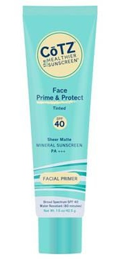 Cotz Face Prime & Protect Spf 40 – Tinted