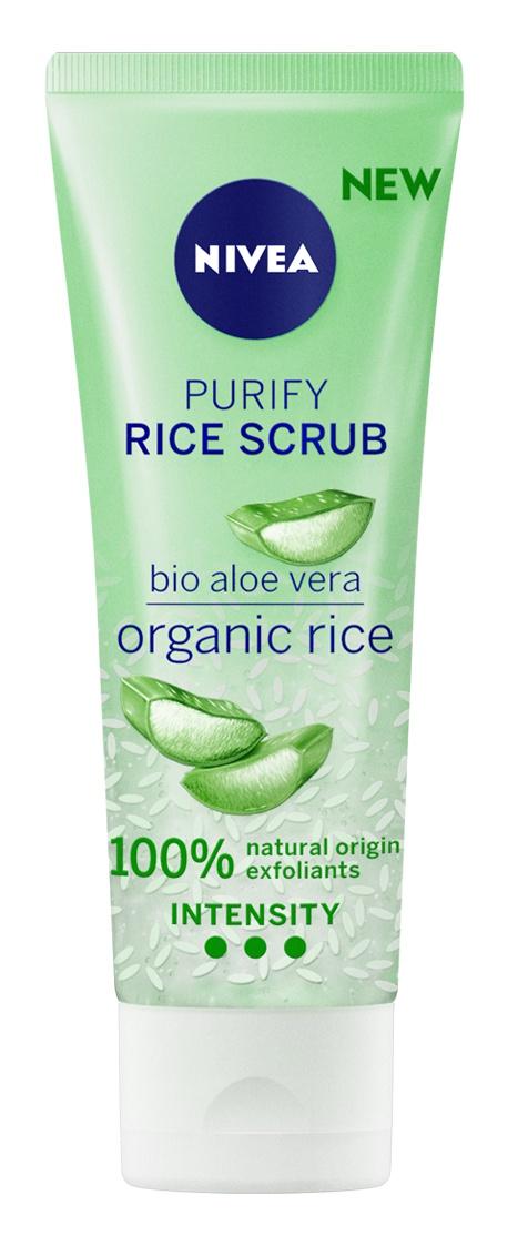 Nivea Purify Rice Scrub