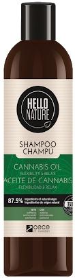 Hello Nature Cannabis Oil Shampoo