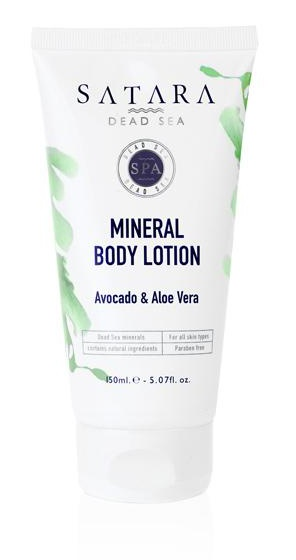 Satara Mineral Body Avocado & Aloe Vera